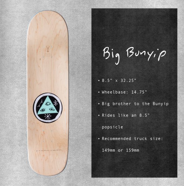 welcome big bunyip shape guide