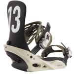 Burton Mission Snowboard Bindings 2020 - Off White