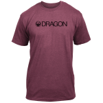 Dragon Trademark 2 T - Burgundy Heather