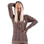 Eivy Icecold Hood Top - Leopard
