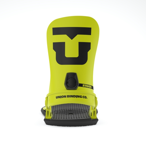 Union Strata Snowboard Bindings 2020 - Hazard Yellow