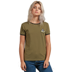 Volcom Women's keep Going Ringer T-Shirt