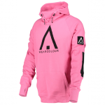 WearColour Bowl Hoodie - Post It Pink