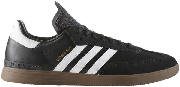 e30d5f070 Adidas Samba ADV Skate Shoe - Black/White/Gum