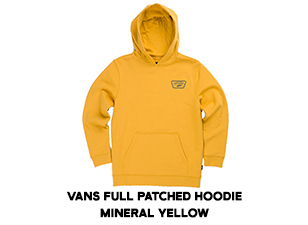 Vans Full Patched Hoodie - Mineral Yellow