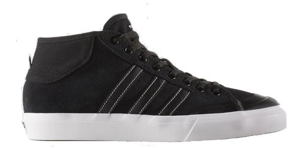 625855afbe9d Adidas Matchcourt Mid Skate Shoe - Black