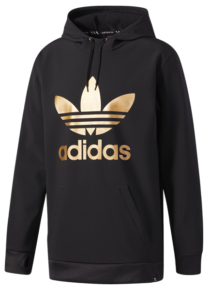 gold adidas sweater