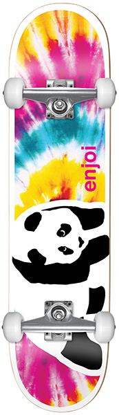 Enjoi Negative Space First Push Complete Skateboard 8""