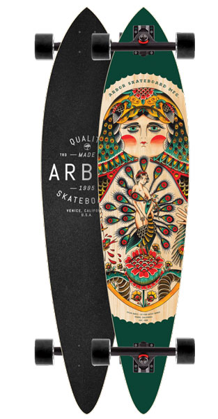 Arbor Fish GT Collection Longboard - 39""