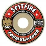 Spitfire Formula Four Wheels Classic 101DU - White 54 MM