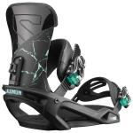 Salomon Women's Vendetta Snowboard Bindings 2019 - Black Marble