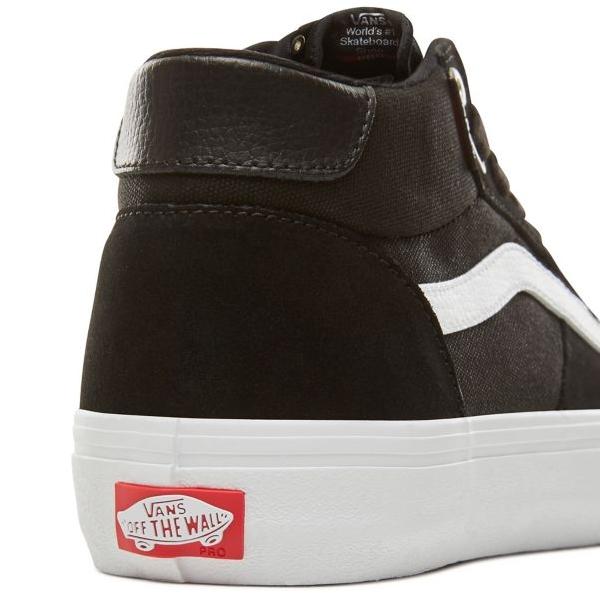 055dca5774 Vans Style 112 Mid Pro Shoe - Black White