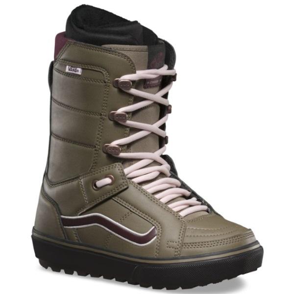 69cce6b624 Vans Women s Hi Standard OG Snowboard Boots 2019 - Grn Burgundy