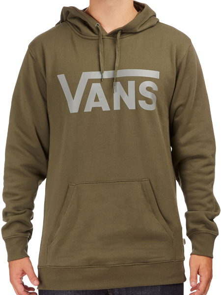 2c0b85622f Vans Men s Classic Hoodie - Grape Grey