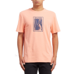 Volcom Peace Off BXY T-Shirt - Orange Glow