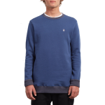 Volcom Single Stone Crew - Matured Blue