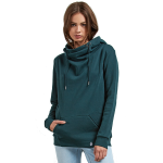 Volcom Women's Walk On By High Neck Hoodie - Evergreen