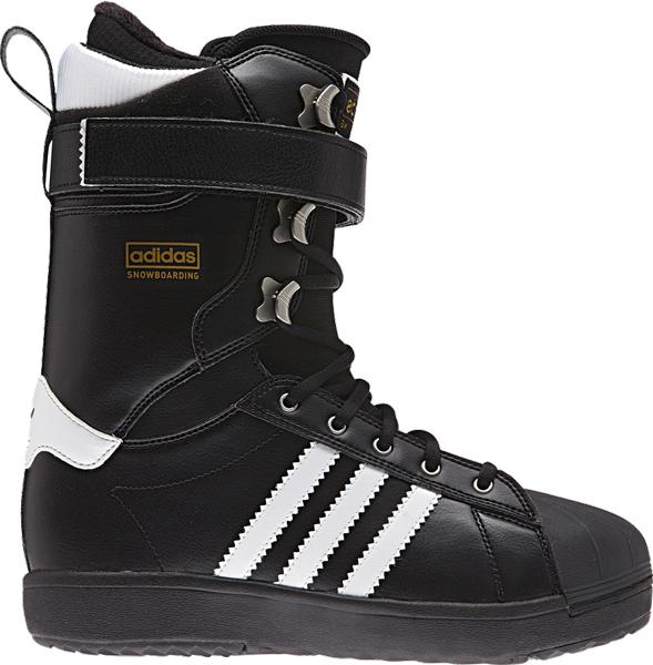 adidas superstar boots black