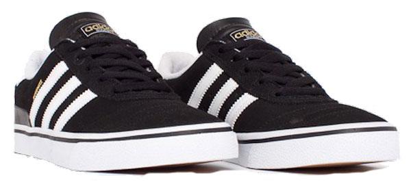 adidas skate busenitz vulc skate shoe black white black