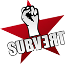 Subvert logo and home link